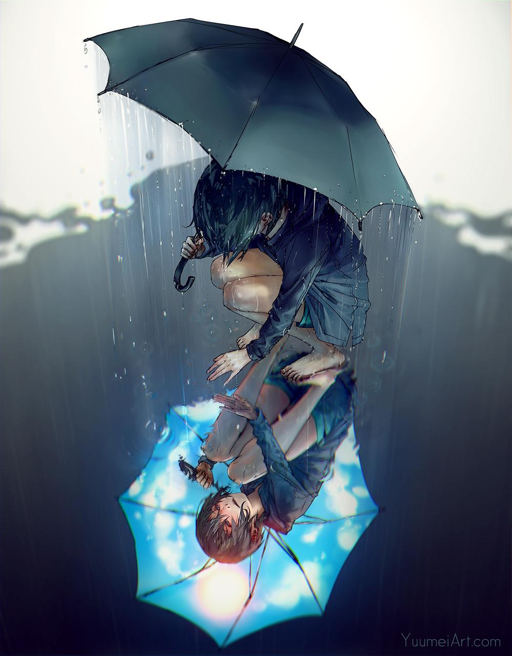 Rain on My Sunshine by yuumei on DeviantArt
