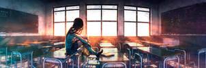 Bygone Days by yuumei