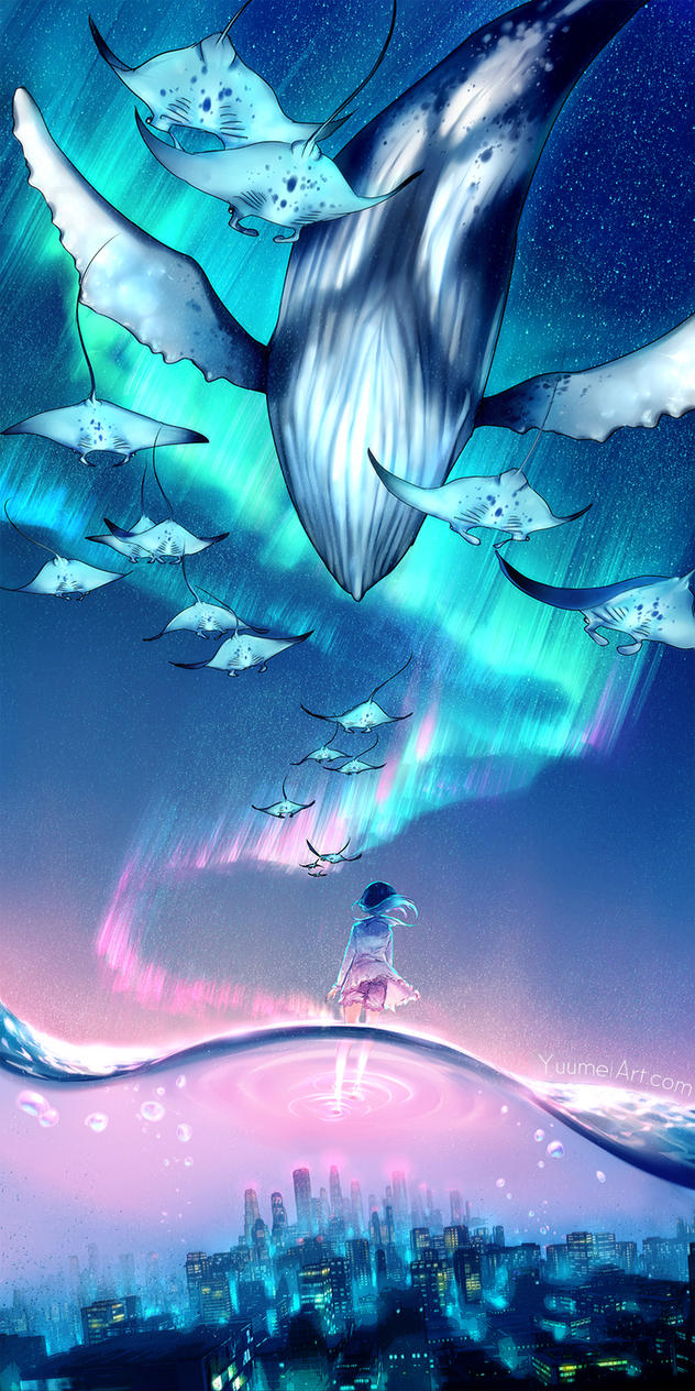 Dream escape by yuumei on deviantart for Dreaming of fish