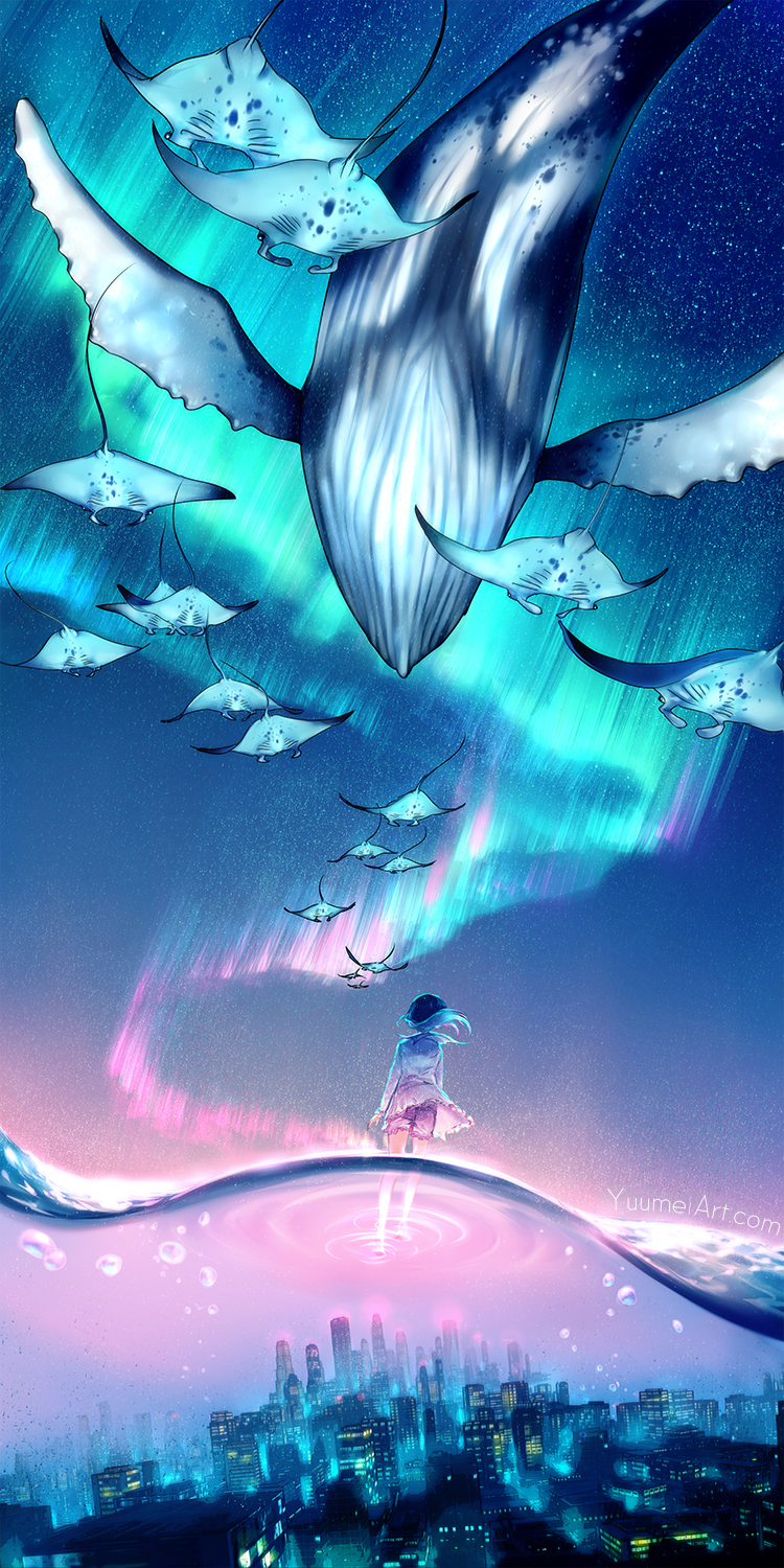 Dream escape by yuumei on deviantart for Dream about fish