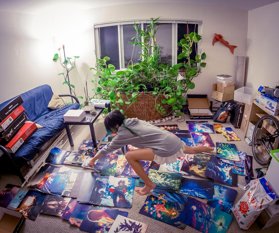 Artist Yoga by yuumei