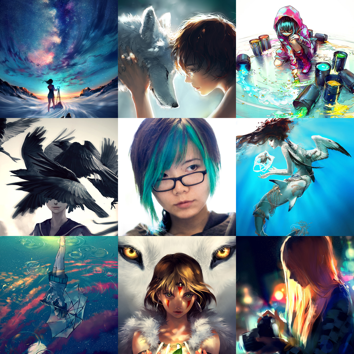 Art vs artist by yuumei on deviantart for Art and craft drawing and painting