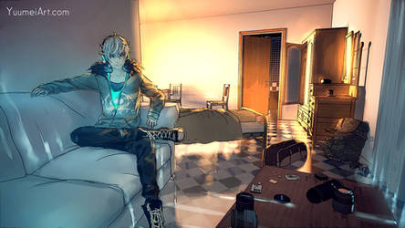 Fisheye Placebo full environment test by yuumei