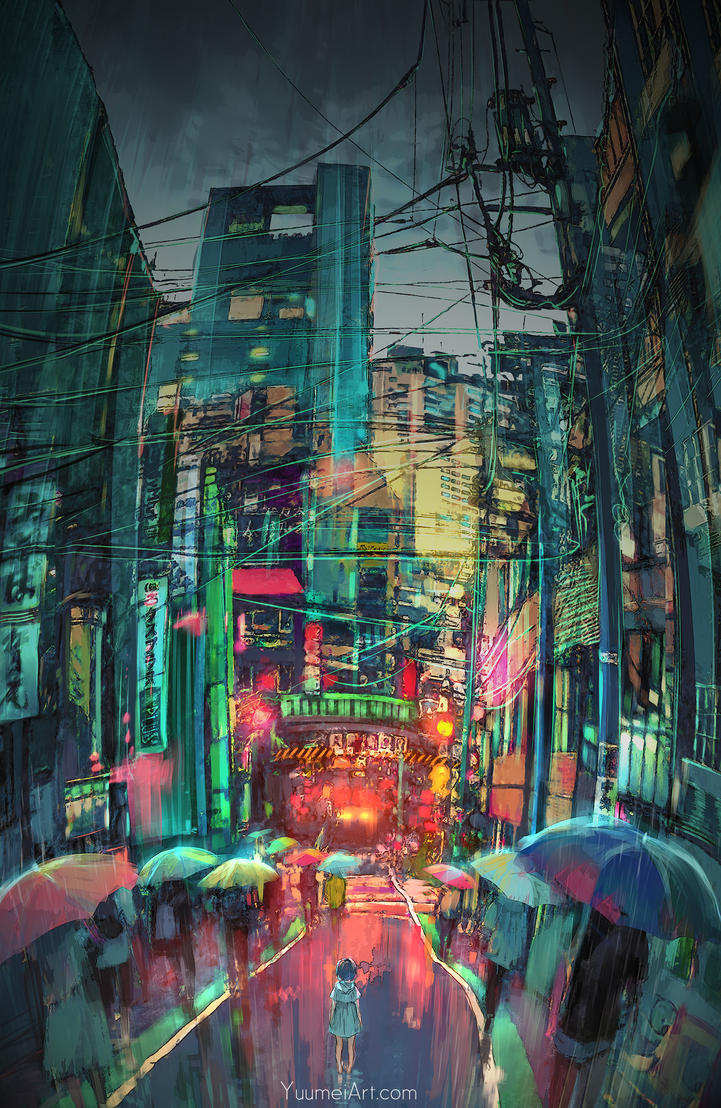 Lost Me by yuumei