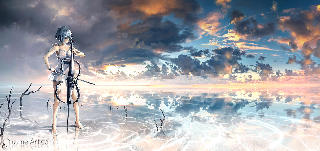 Infinite Melody by yuumei