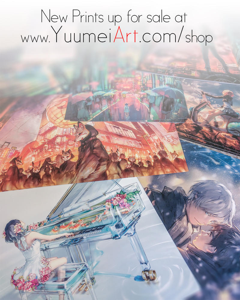 New Prints For Sale by yuumei