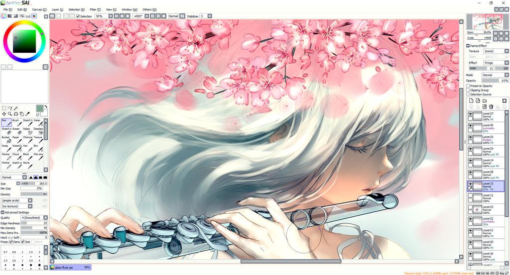 Wip by yuumei