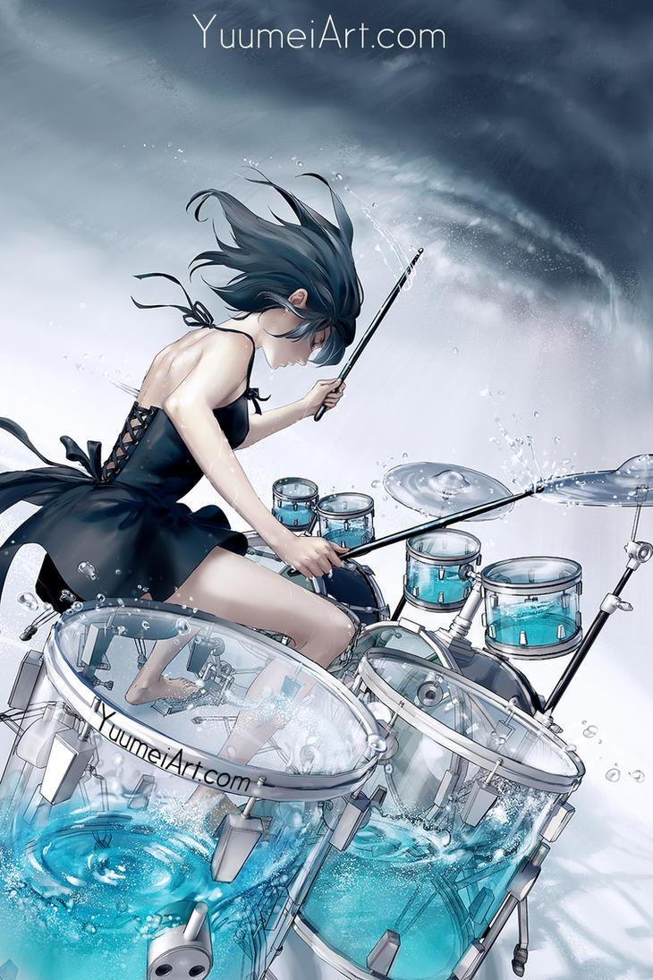 Storm Inside by yuumei