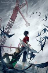 Knite Reboot Promo 1 by yuumei