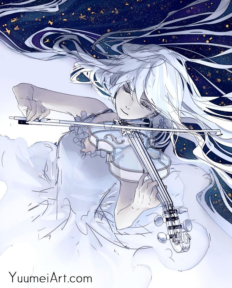 Violin test9 by yuumei
