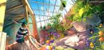 Hidden Paradise by yuumei