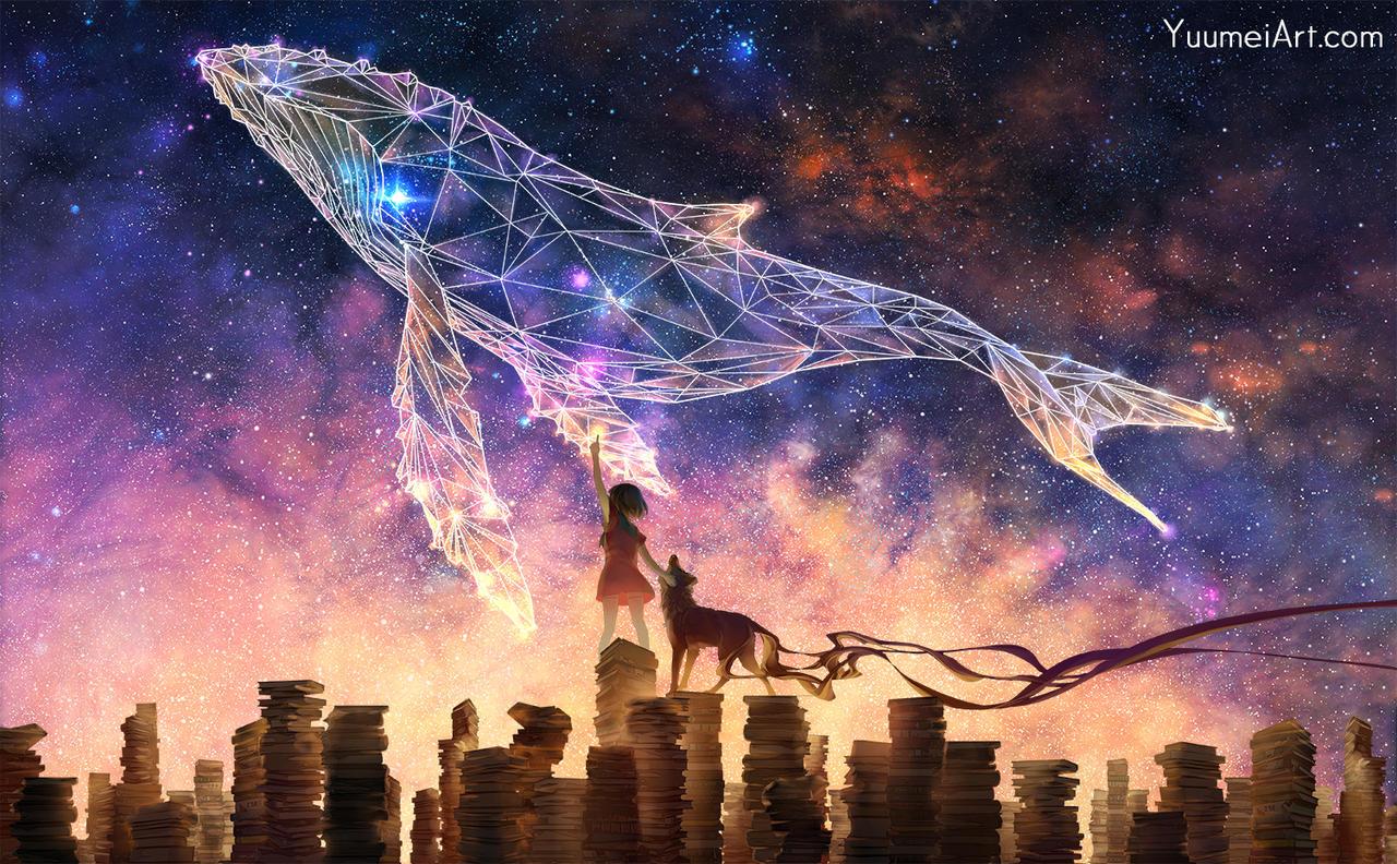 Dream Big! by yuumei on DeviantArt