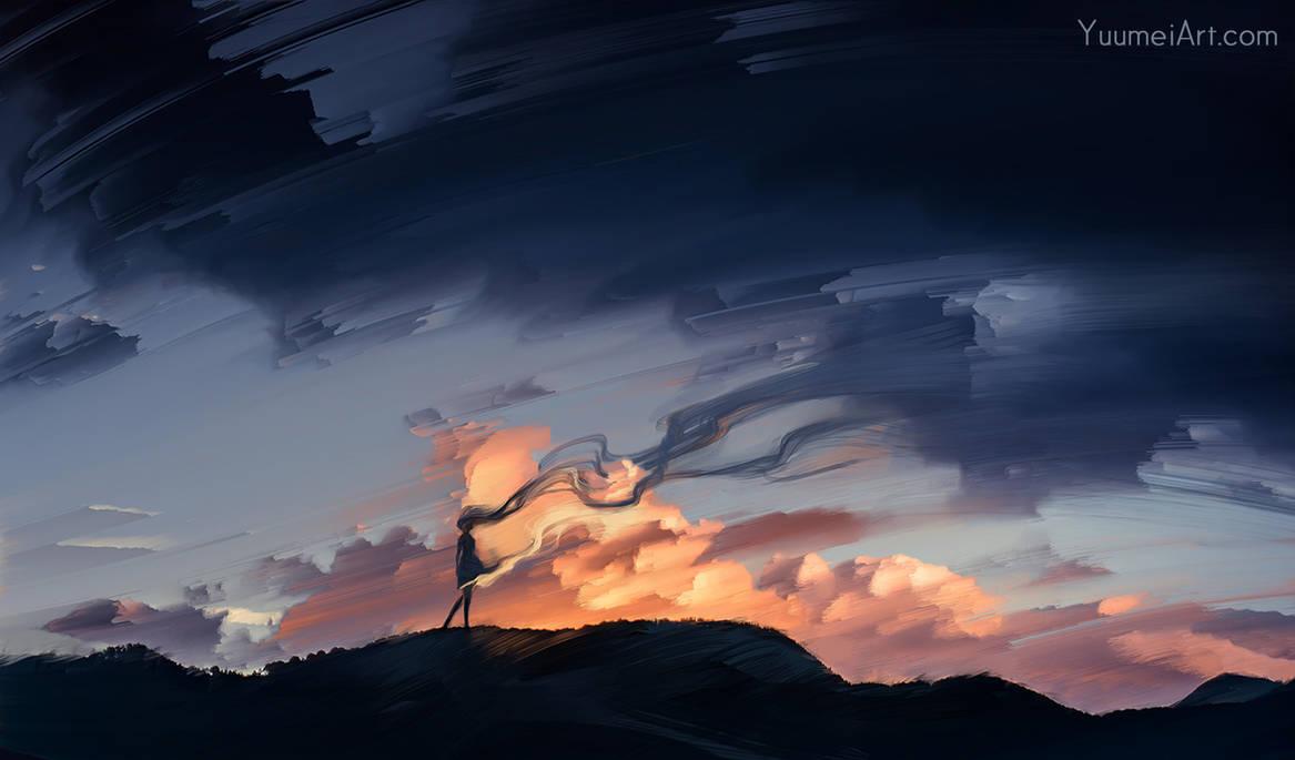 Fade Away by yuumei