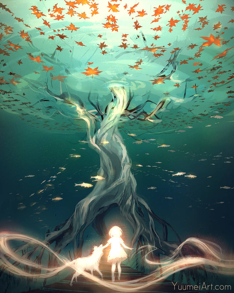 Over and Under by yuumei