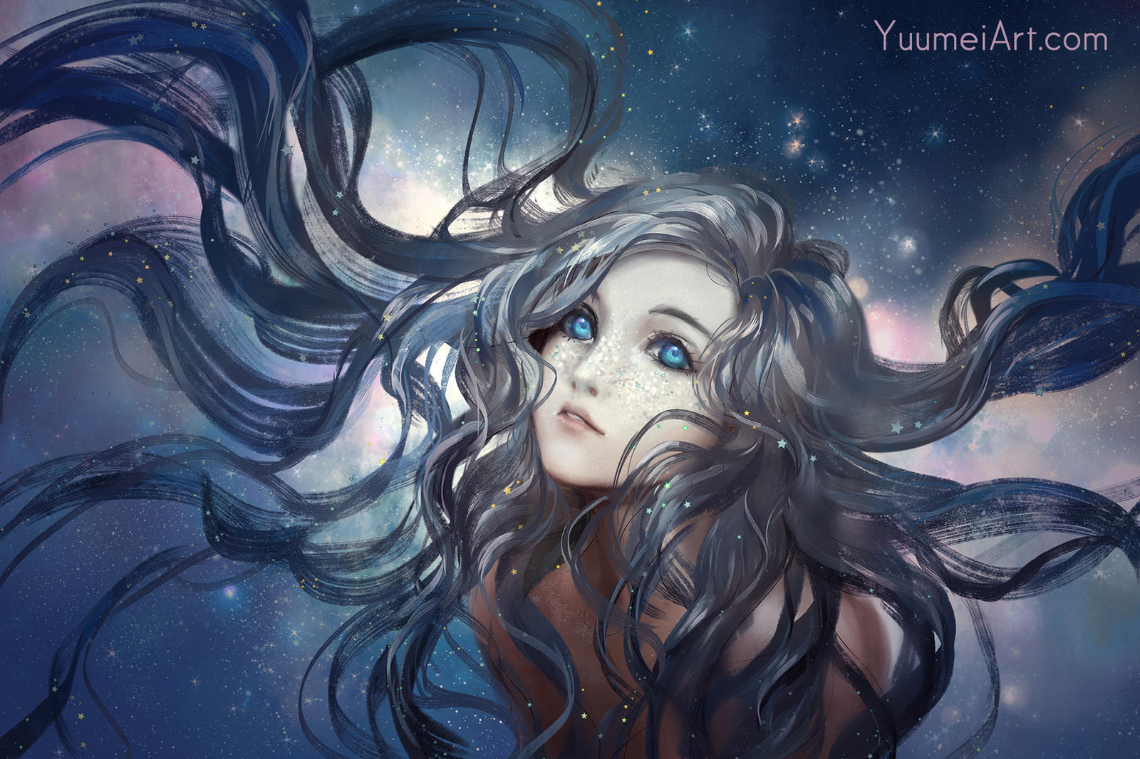 Flowing Out by yuumei