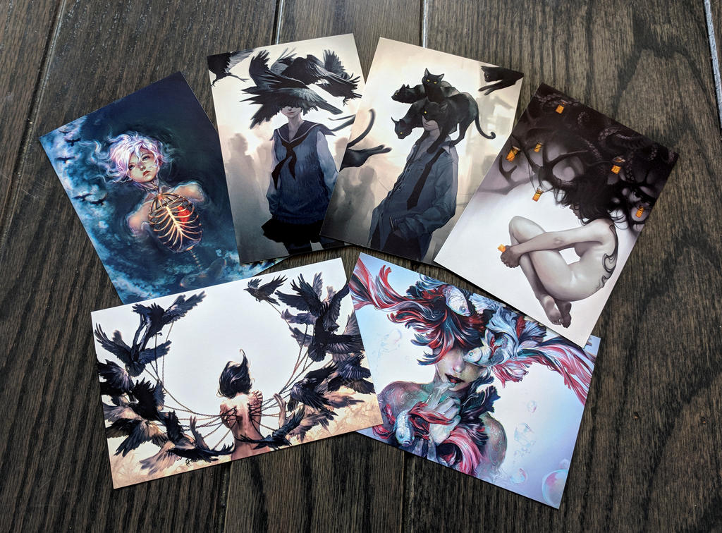Dark Collection by yuumei