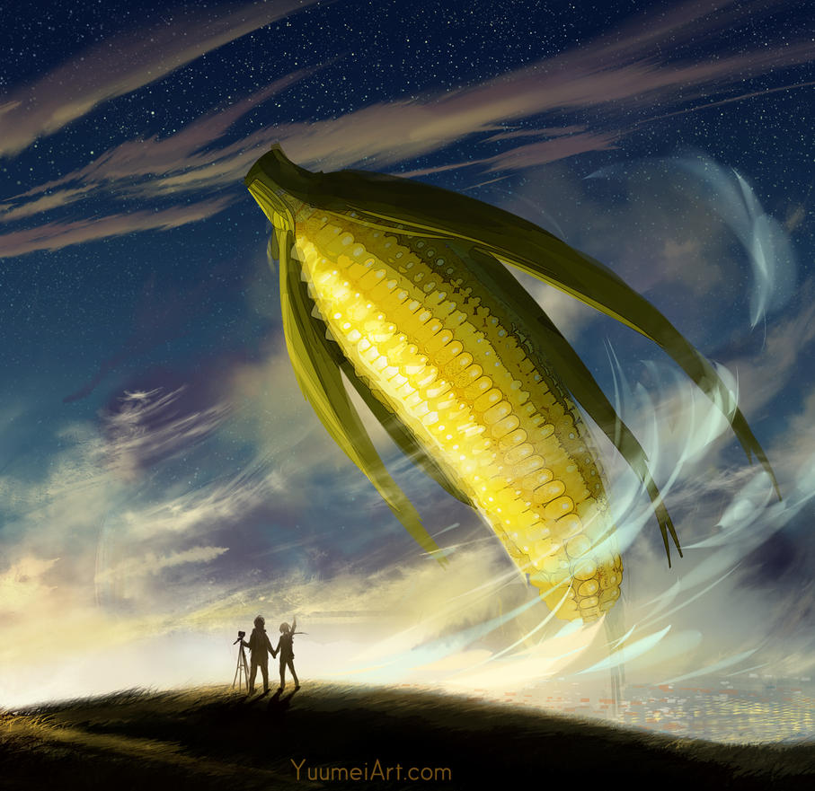 Lol Corn by yuumei