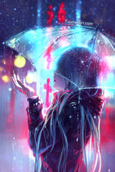 Blurred Lines by yuumei