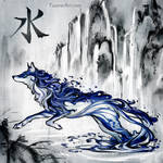 Wolf Of Water Post