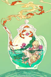 Terrarium Life 2 - Tea and Lotus