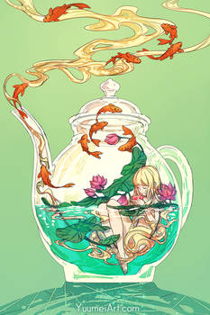 Terrarium Life 3 - Tea and Lotus