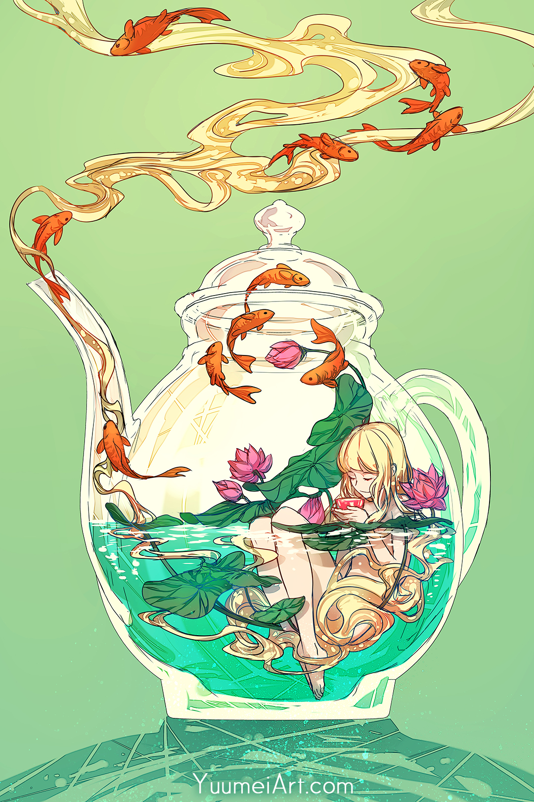 Terrarium Life 3 - Tea and Lotus