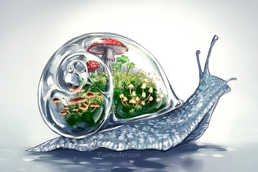 Worlds Within: Snail Terrarium