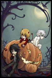Death Note Halloween by yuumei