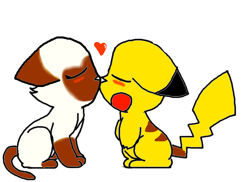 Pikachu Kiss Pokemon Card Images | Pokemon Images