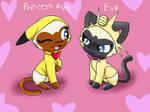 Princess Ava And Eva Cosplay