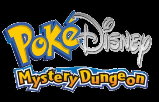 pokedisney mysteryDungeon-Logo by lopez765
