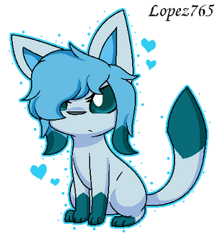 Glaceon (My Design ) by lopez765