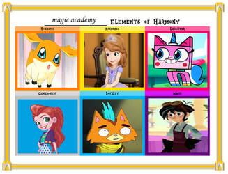 Magic Academy Elements Of Harmony by lopez765
