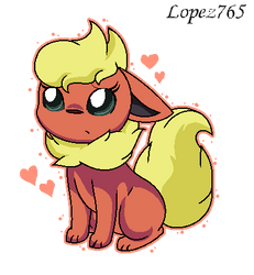 Flareon (My Design) by lopez765