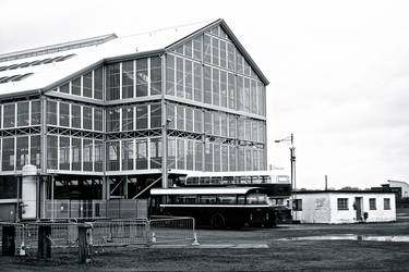 Inside Chatham Dockyard