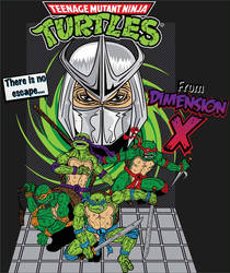 TMNT Escape from Dimension X by Killswitch-Chris