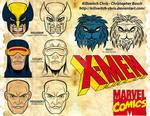X-men Headshots