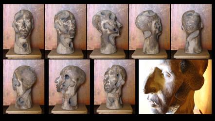 clay head - marco