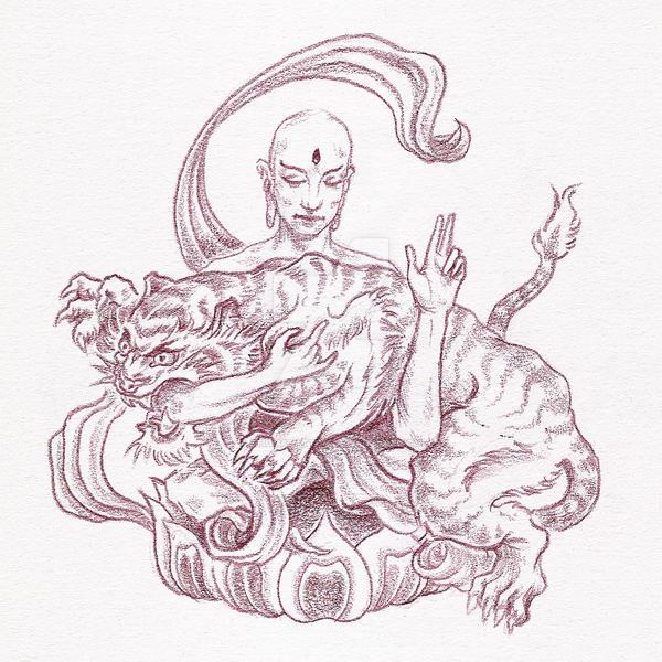 strong bodhisattva by stigmatattoo