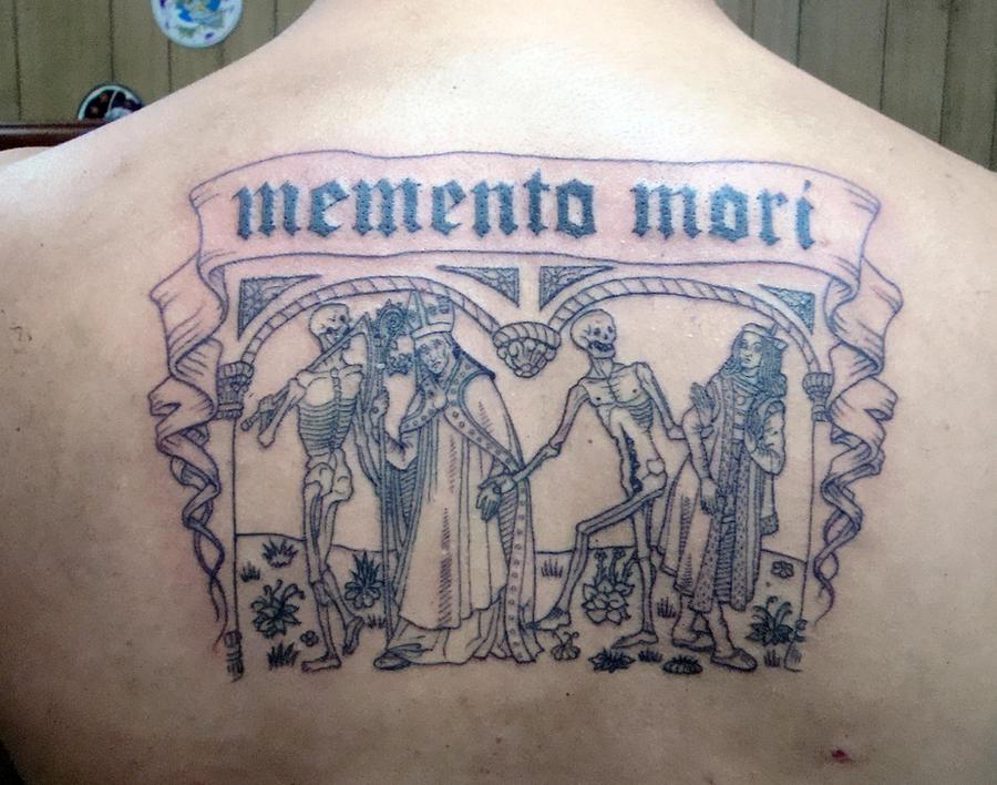 Danse Macabre Memento Mori By Stigmatattoo On Deviantart