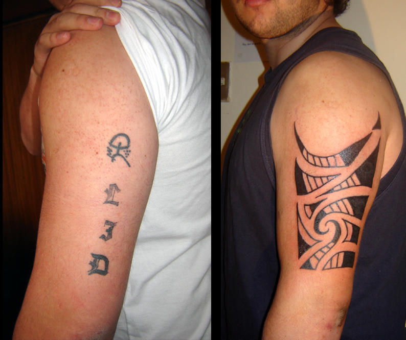 Maori Tattoo Cover Up: Maori Cover Up By Stigmatattoo On DeviantArt