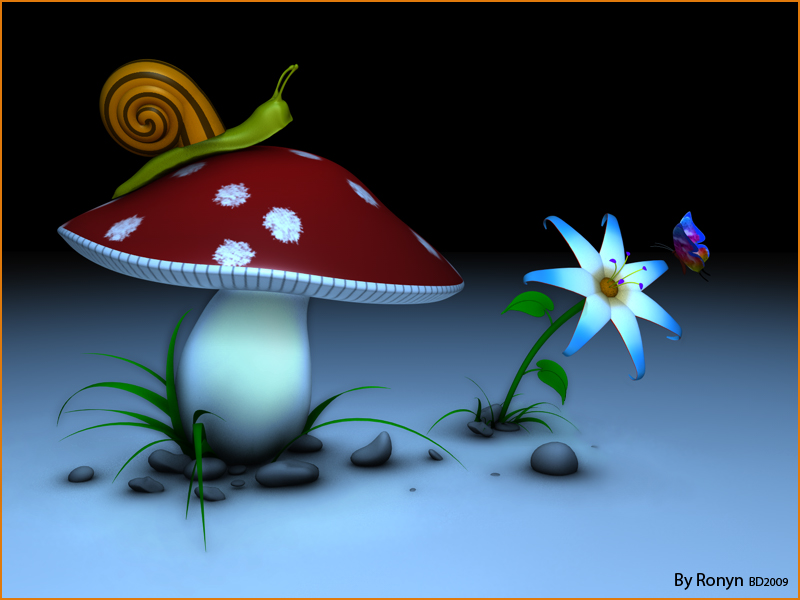 The Mushroom by The-Ronyn