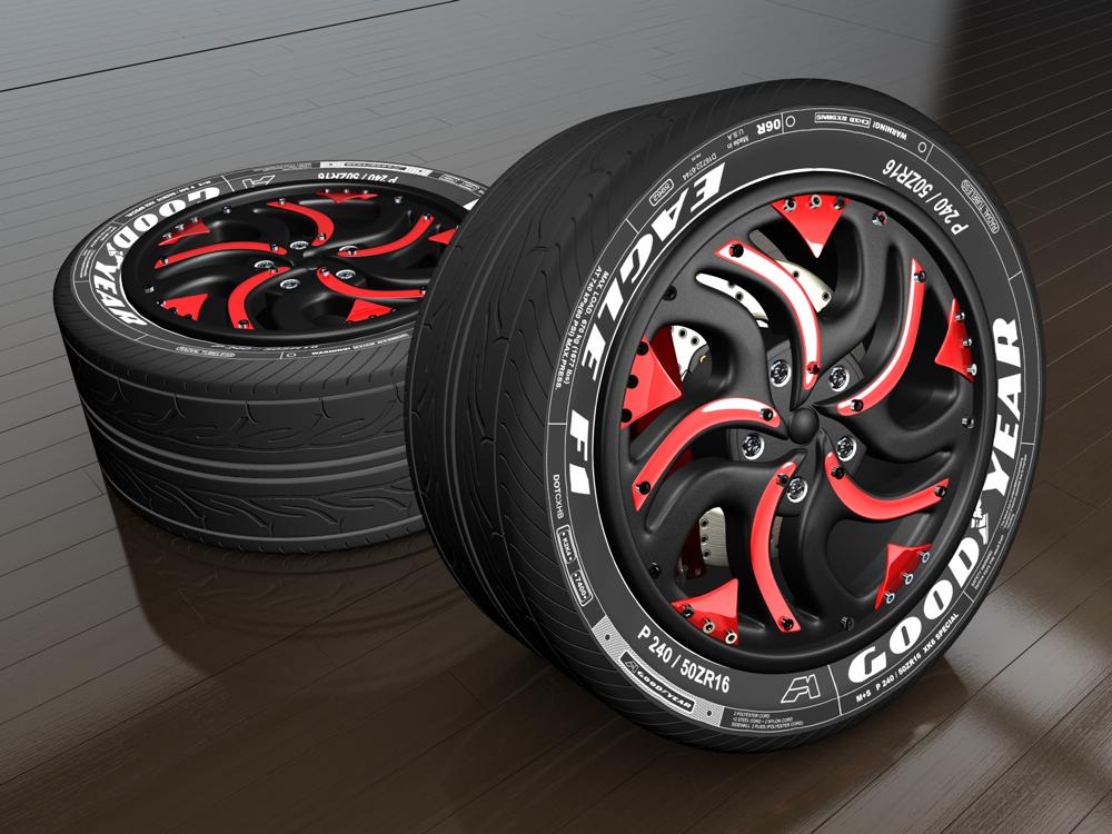 Ruedas - Wheels by The-Ronyn