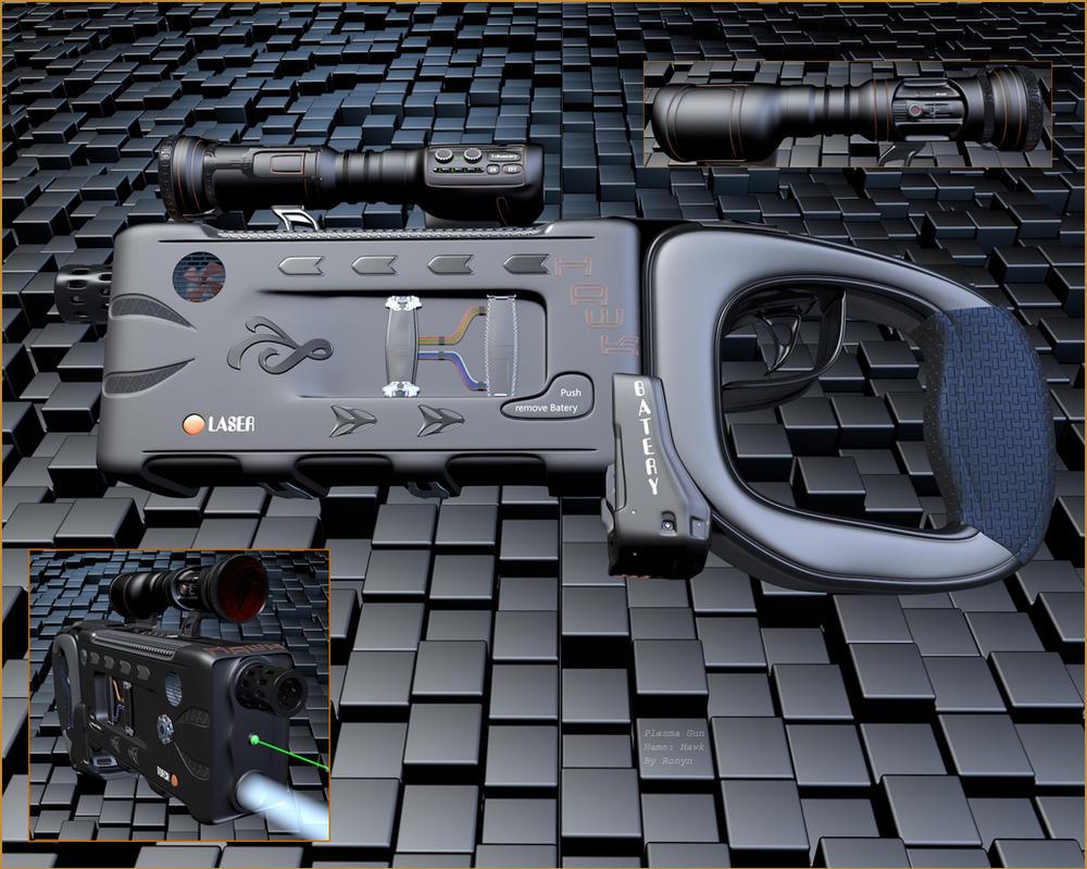 Plasma Gun by The-Ronyn