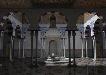 Patio Alhambra by The-Ronyn