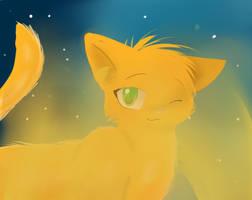 SSS Warrior Cats firepaw 3D by sonamy2905