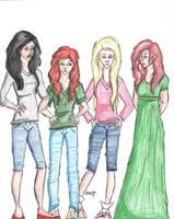 Vampire Diary Girls