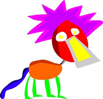 Cool Flash Lion by PurpleBubbleBox