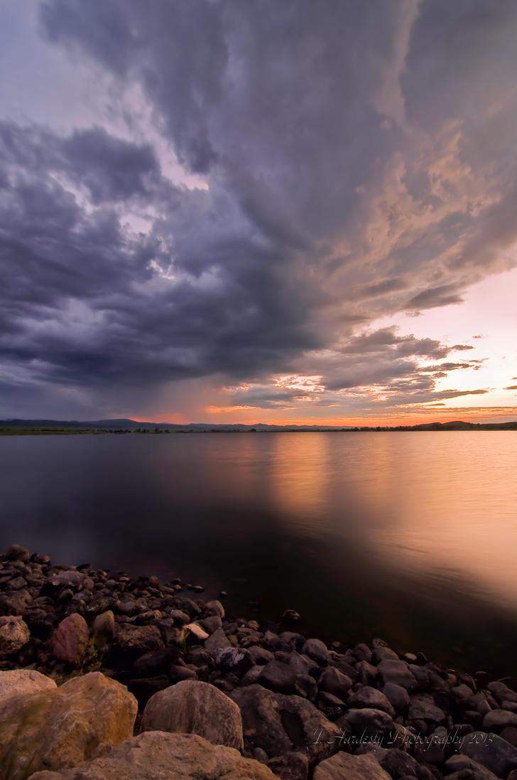 Bear Butte Lake by Corvidae65