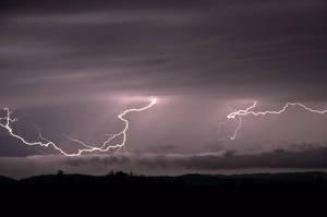The Dazzling Sight of Lightning